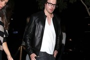 Chord Overstreet Leather Jacket