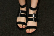 Taissa Farmiga Strappy Sandals
