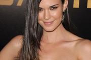 Odette Annable Long Straight Cut