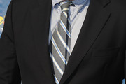 Alec Baldwin Striped Tie