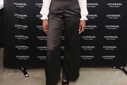 Issa Rae High-Waisted Pants