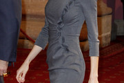 Princess Letizia Day Dress