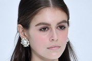 Kaia Gerber Half Up Half Down