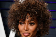 Naomi Campbell Short Curls