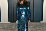 Salma Hayek Sequin Dress