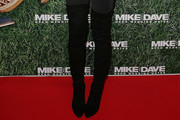 Sophie Monk Over the Knee Boots