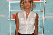 Kaley Cuoco Button Down Shirt