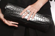 Melanie Laurent Leather Clutch
