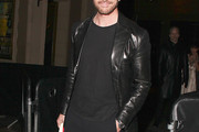 Dylan McDermott Leather Jacket