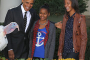 Malia Obama Leather Jacket