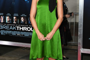Mandy Moore One Shoulder Dress