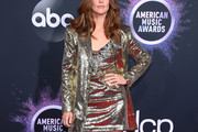 Cobie Smulders Sequined Jacket