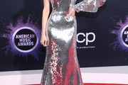 Sofia Carson Sequin Dress