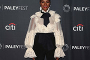 Tika Sumpter Pussybow Blouse