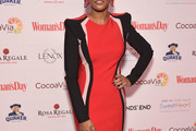 Tamron Hall Shoulder Pad Dress