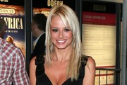 Rhian Sugden Long Straight Cut with Bangs
