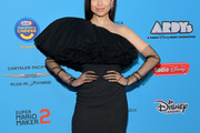 Sofia Carson One Shoulder Dress