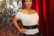 Jessie Wallace Off-the-Shoulder Top