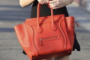 Rumer Willis Leather Tote