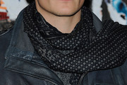 Rupert Friend Patterned Scarf