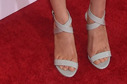 Kaley Cuoco-Sweeting Strappy Sandals