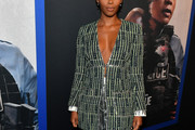 Nafessa Williams Tweed Jacket