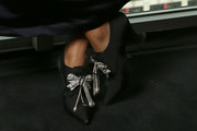 Amandla Stenberg High Heel Oxfords