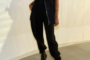 Willow Smith High-Waisted Pants