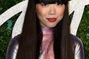 Susanna Lau Long Straight Cut with Bangs