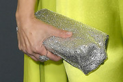 Kristen Bell Metallic Clutch
