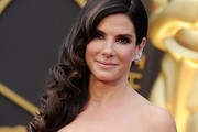 Sandra Bullock Side Sweep