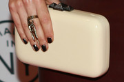 Sarah Shahi Hard Case Clutch