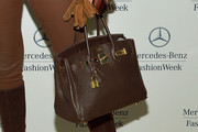 Sonja Morgan Leather Tote