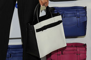 Chanel Iman Leather Tote