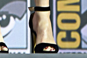 Rachel Weisz Peep Toe Pumps