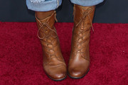 Yvette Nicole Brown Lace Up Boots