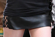 Taylor Momsen Mini Skirt