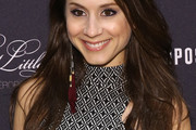 Troian Bellisario Long Side Part