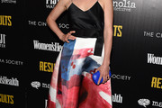 Cobie Smulders Print Dress