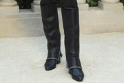 Tilda Swinton Knee High Boots