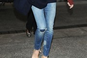 Victoria Beckham Ripped Jeans