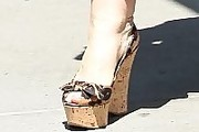 Sharon Osbourne Wedges