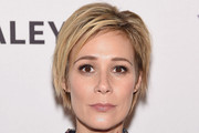 Liza Weil Layered Razor Cut