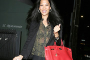 Kimora Lee Simmons Print Blouse
