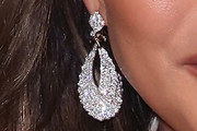Chrissy Teigen Dangling Diamond Earrings