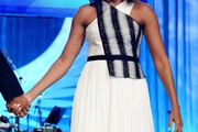 Michelle Obama Halter Dress