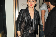 Katie Waissel Leather Jacket