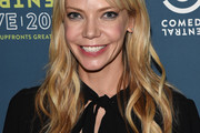 Riki Lindhome Long Wavy Cut with Bangs