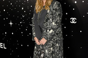 Drew Barrymore Printed Coat