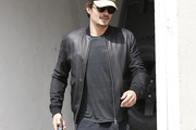 Orlando Bloom Leather Jacket